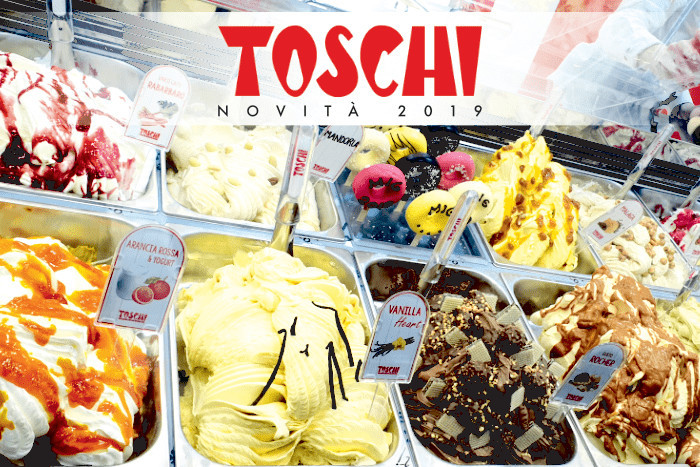 New Toschi gelato products for your ice cream parlour